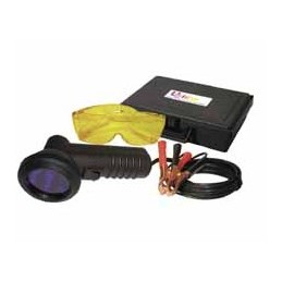 UV goggles + UV LED lamp
