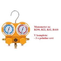 Manifold gauge R290, R22,...