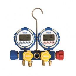 Manifold gauge VDG-4-S1