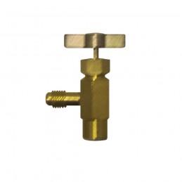 Needle valve depressor...