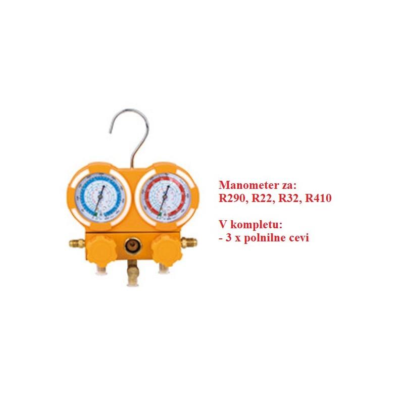 Manometer R290, R22, R32, R410